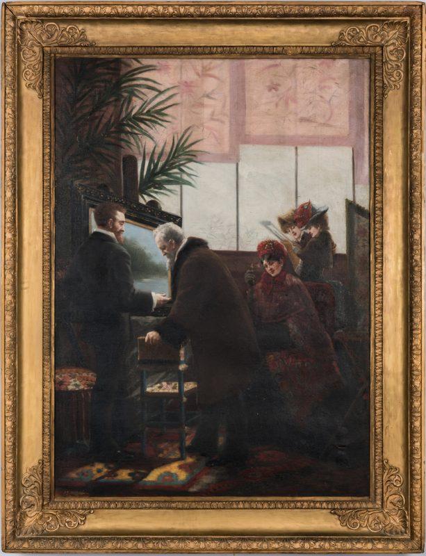 Lot 307: Attr. U.M. Samaran, Pictures at an Exhibition