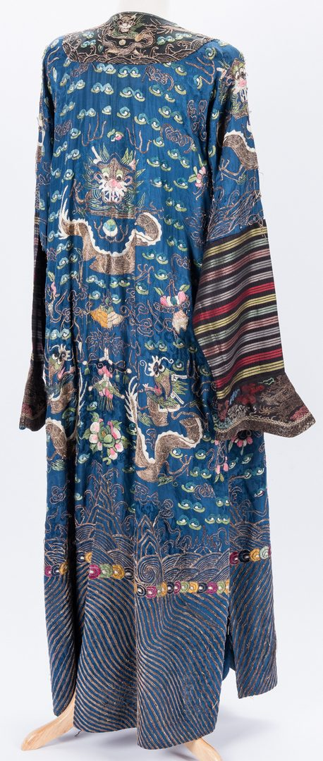 Lot 31: Chinese Theatrical Robe & Qing Tasseled Collar