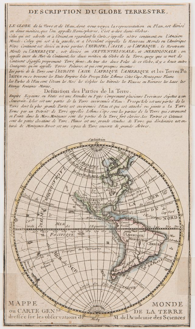 Lot 334: 5 Maps of the World and North America, incl. Hondius