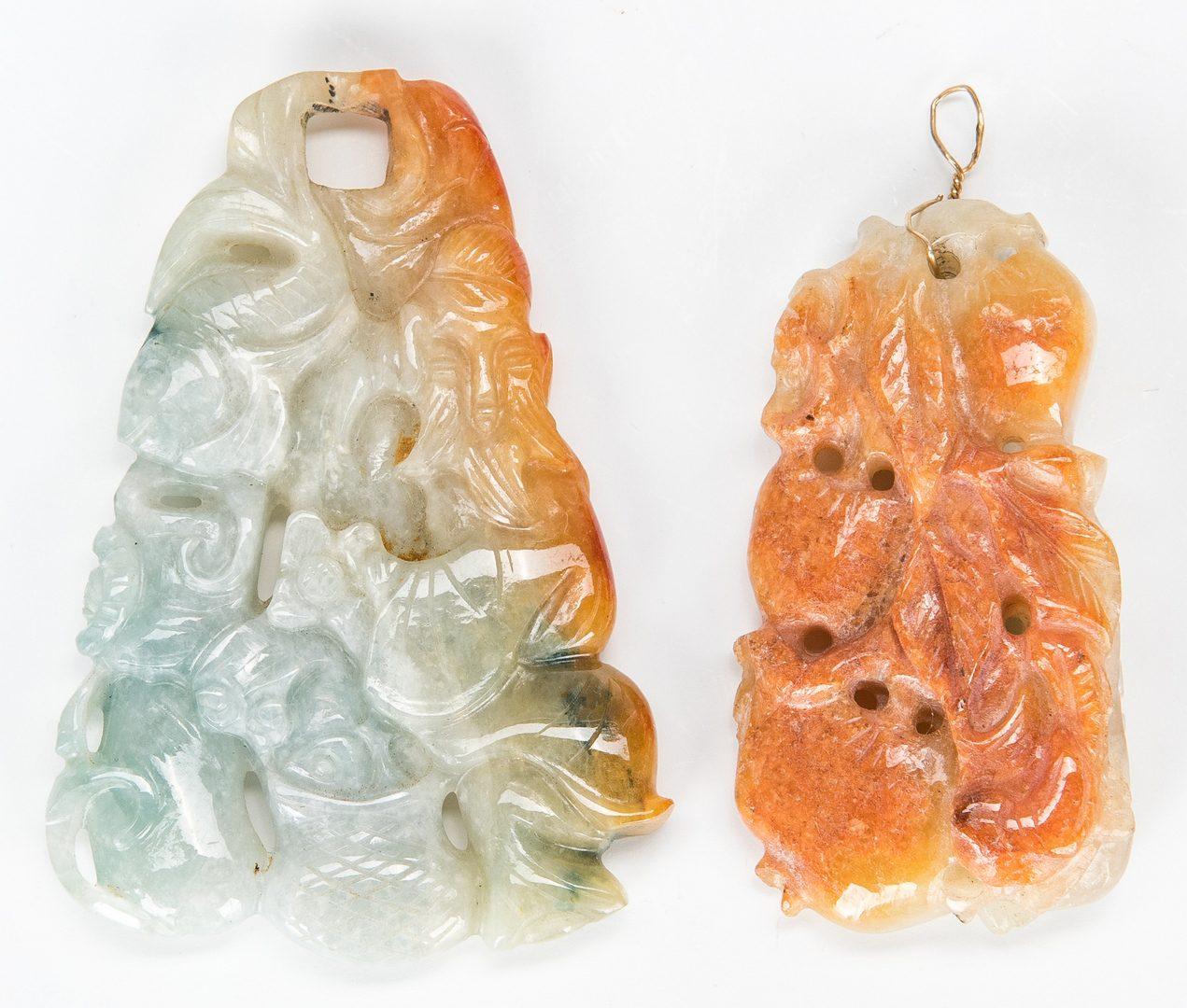 Lot 33: 6 Asian Decorative Items, incl. Thangka