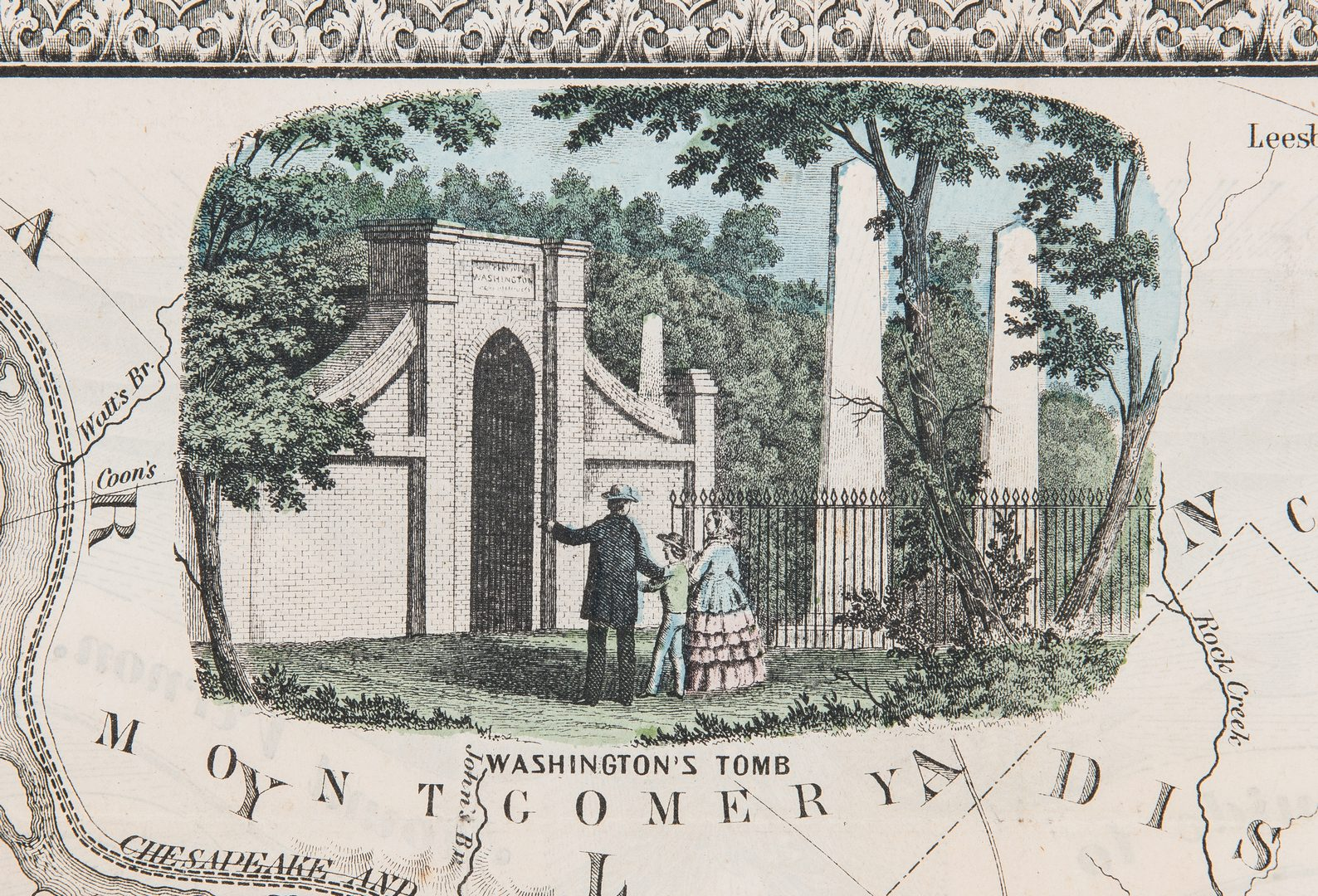 Lot 343: Alexandria, VA map by James Tuthill