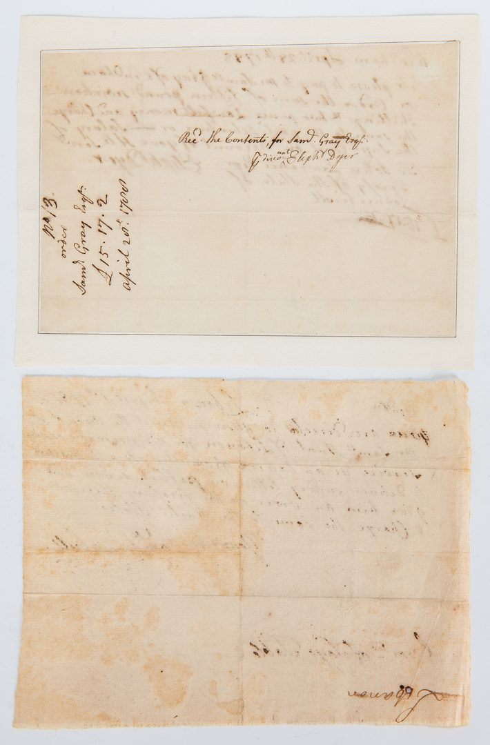 Lot 344: Collection of 8 Revolutionary War Related Items