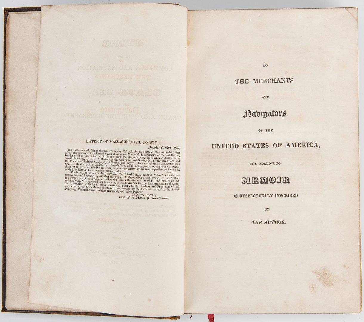Lot 345: Adams, Dearborn, Boyd Archive, Presidential Interest