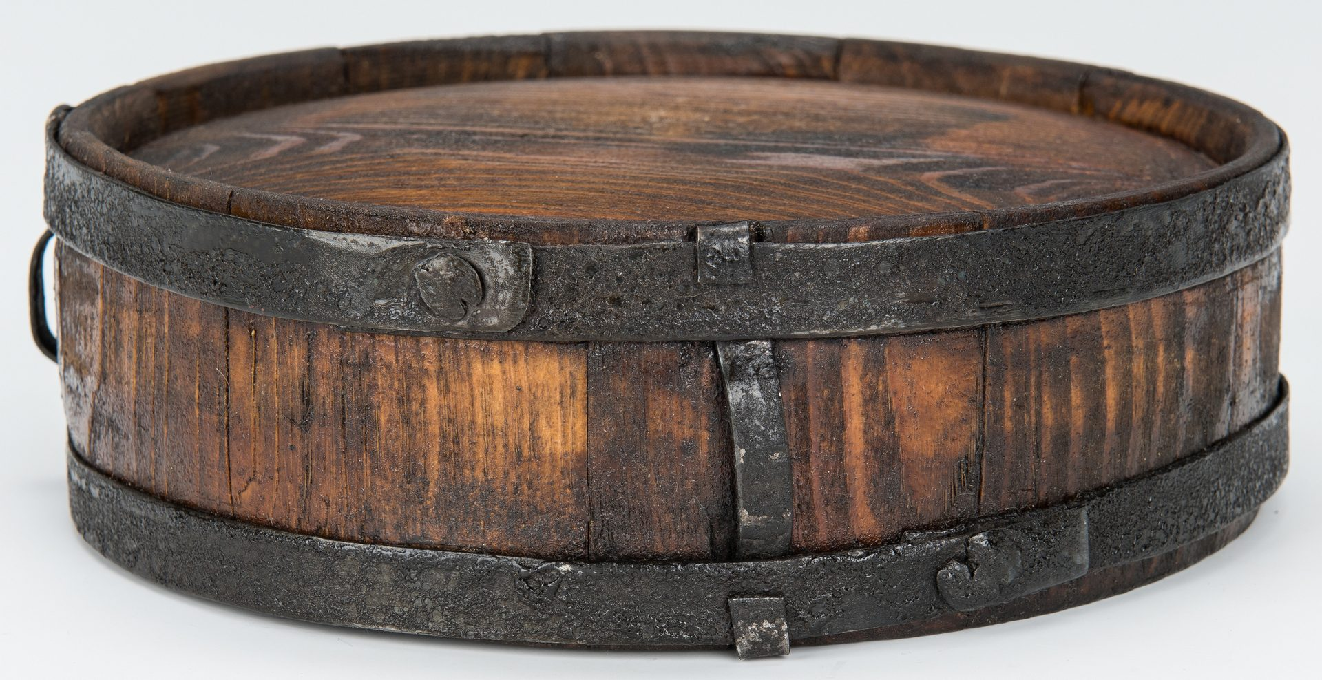 Lot 366: 2 Confederate Washington, Georgia Warehouse Wood Drum Canteens