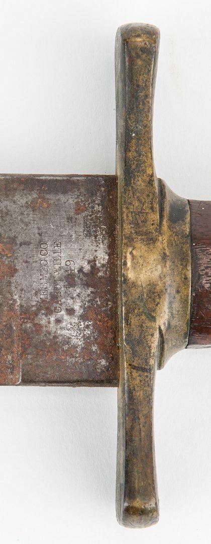 Lot 369 Civil War Ames U S Model 1849 Rifleman S Knife