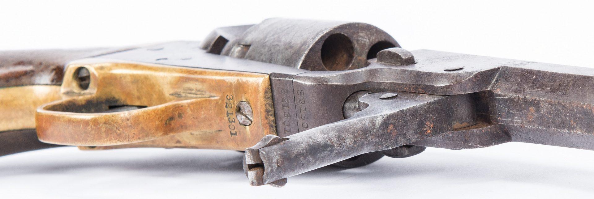 Lot 371: Colt Model 1849 Pocket Revolver, .31 cal