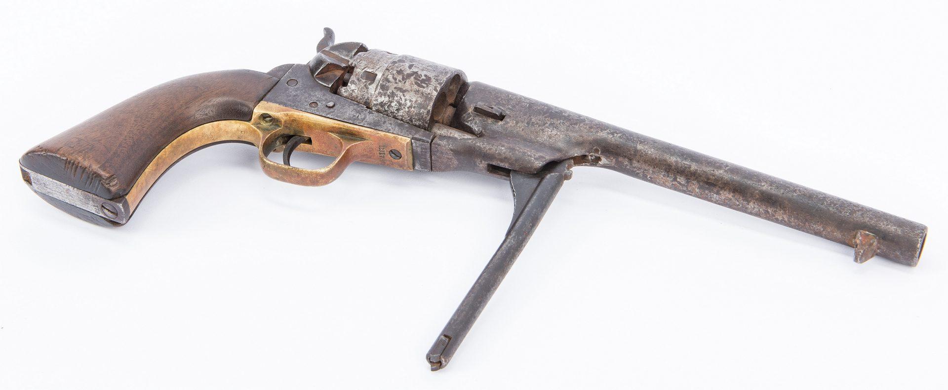 Lot 372: 2 Early 1860's Colt Firearms