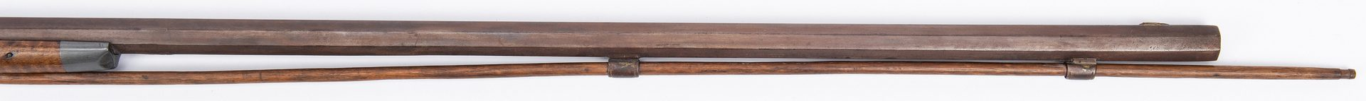 Lot 374: Percussion Long Rifle and Vicksburg Commission, 2 items