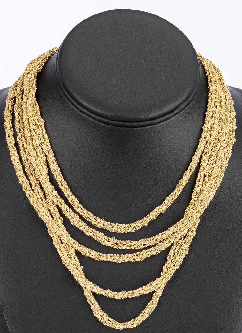 Lot 40: Italian 18K Necklace, 108.2 gr