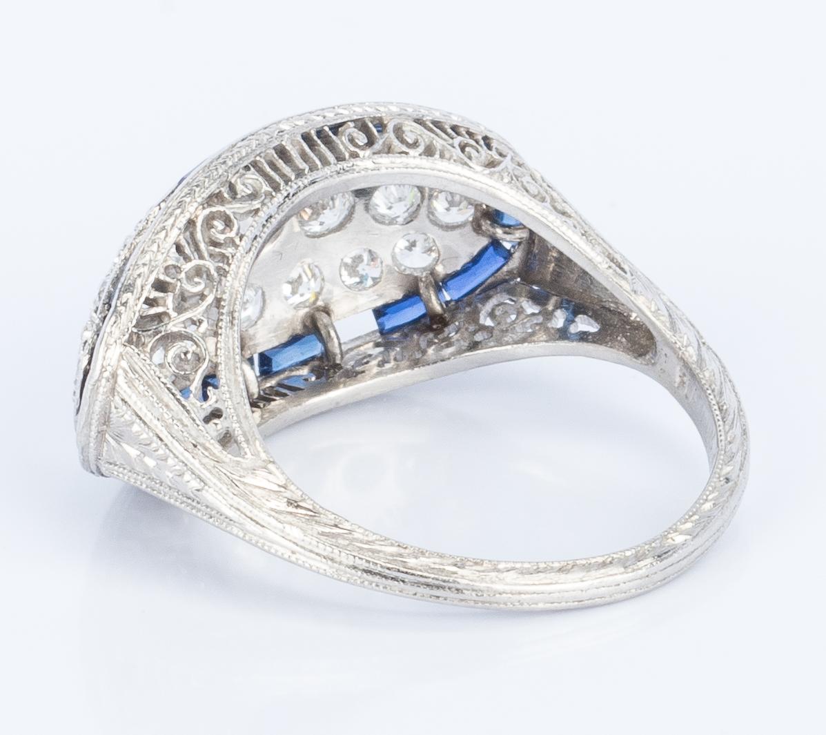 Lot 410: 3 Vintage Diamond Rings incl. Art Deco