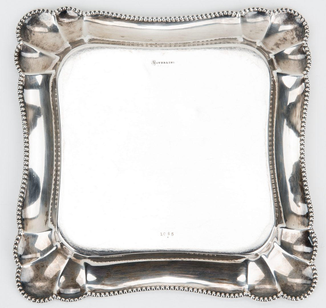 Lot 419: 6 Silver & Plated Items, incl. Christofle