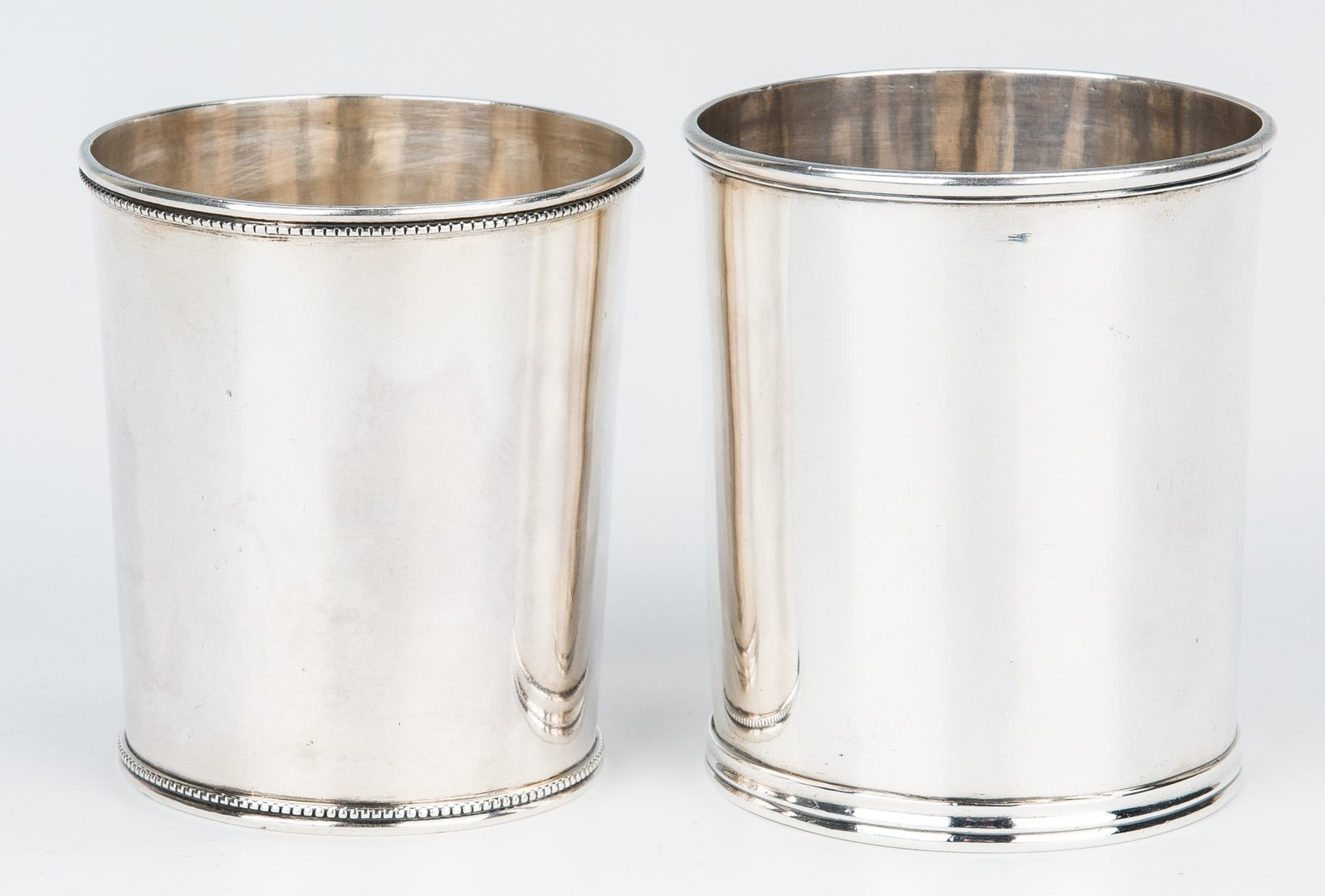 Lot 420: 2 Coin Silver Cups, Kirk & Gorham