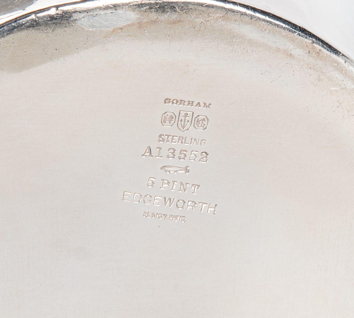 Lot 423: 5 Pcs. Sterling Silver Holloware