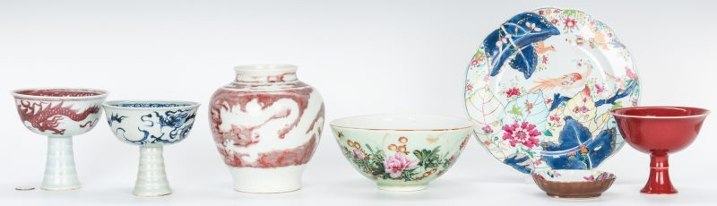 Lot 469: 7 Asian Porcelain and Ceramic Items