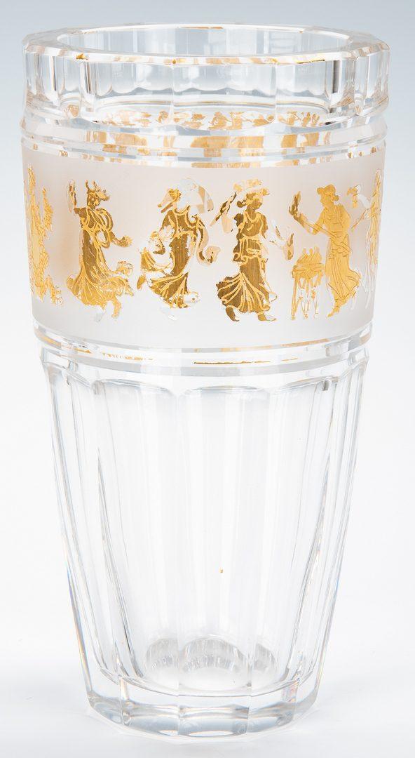 Lot 474: 51 Crystal & Glass Items, incl. Baccarat, Val St. Lambert, Orrefors