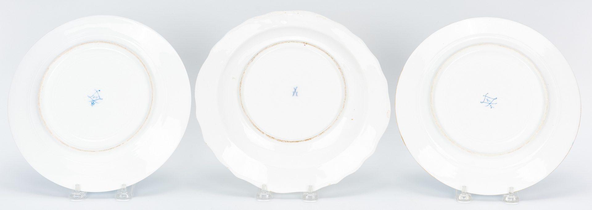 Lot 481: 7 European Porcelain Items, incl. Royal Vienna & Meissen