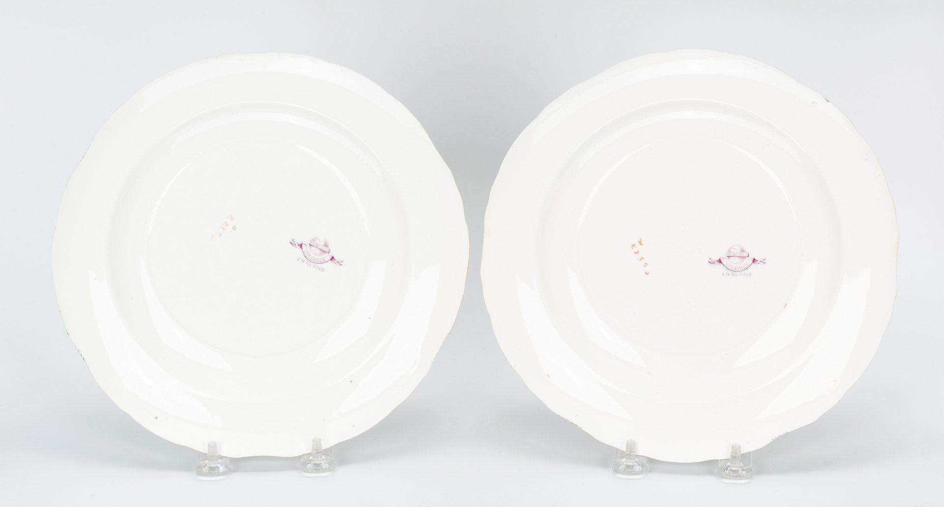 Lot 484: Minton Cockatrice Green Porcelain Dinnerware, 43 pcs.