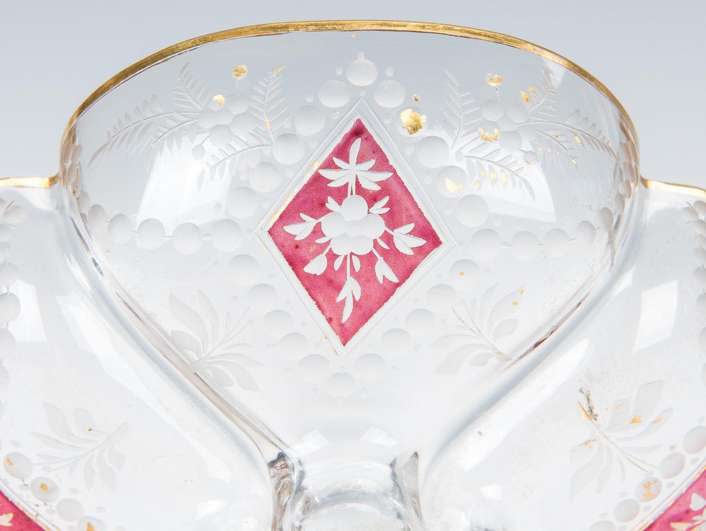 Lot 505: 4 pcs. Art Glass inc. Tiffany