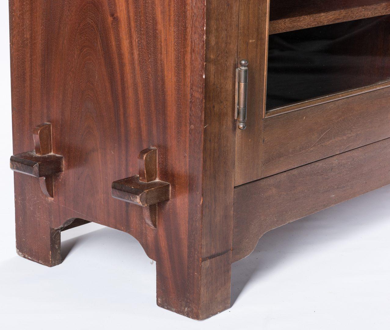Lot 519: Roycroft Three Door Bookcase