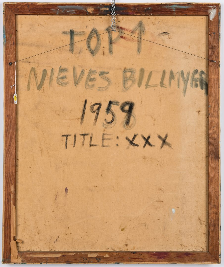Lot 538: Neives Billmyer Abstract Collage, XXX