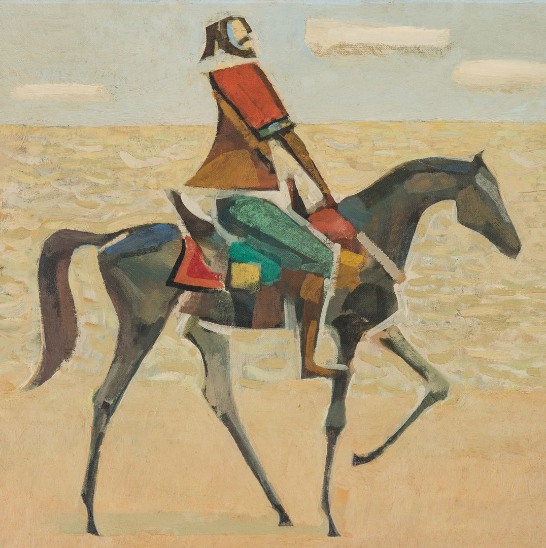Lot 540: Hector Julio Bernabo Carybe O/B, The Horseman