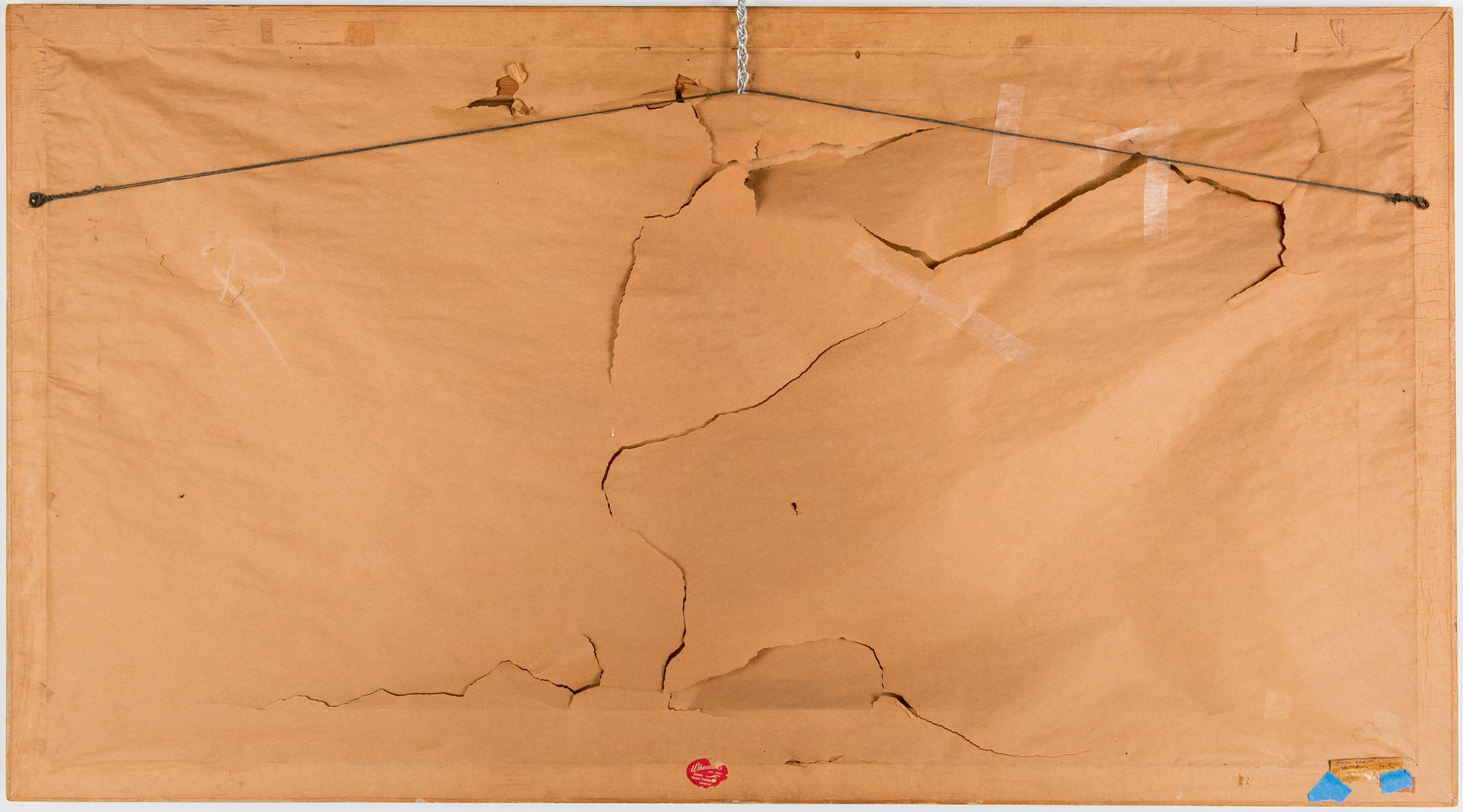 Lot 545: Marjorie Liebman, oil painting, Bridge
