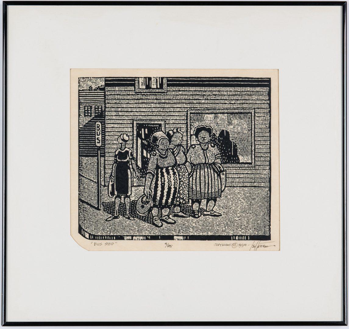 Lot 550: 2 Prints: Red Grooms & Ted Jones