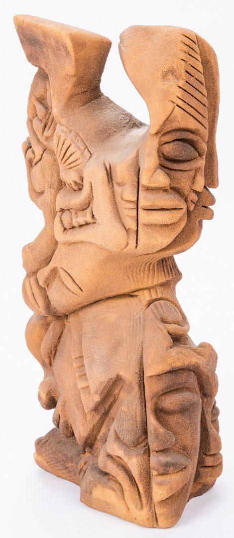 Lot 552: Lonnie Holley sandstone sculpture