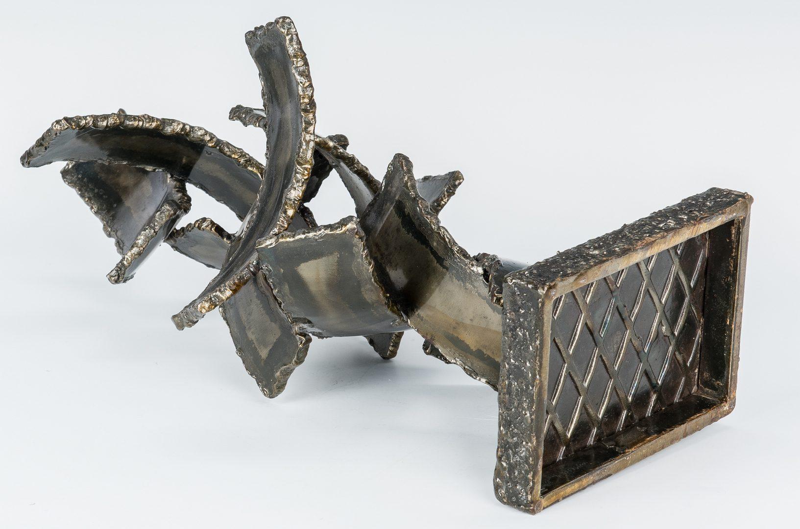 Lot 563: M. Fantoni Bronzed Steel Sculpture