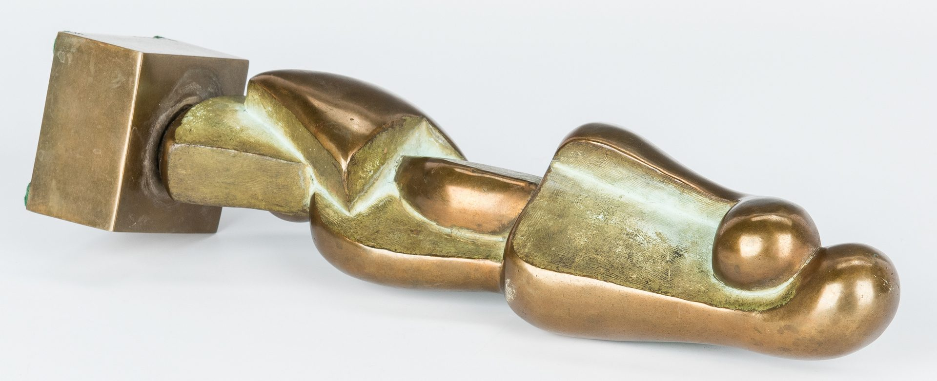 Lot 564: Bronze abstract sculpture by Dorothy Wilson