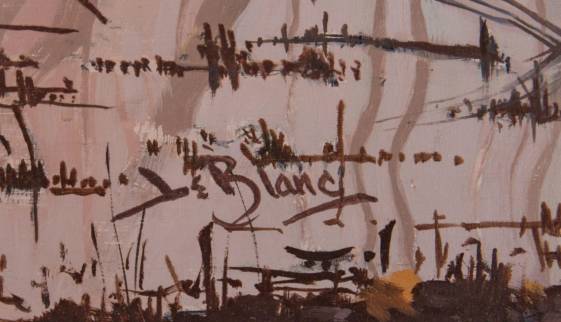 Lot 569: Lee LeBlanc O/C, Landscape w/ Mallards