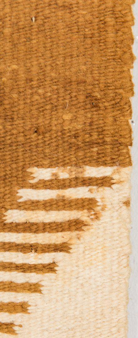 Lot 581: Large Navajo Blanket & 2 Navajo Rugs