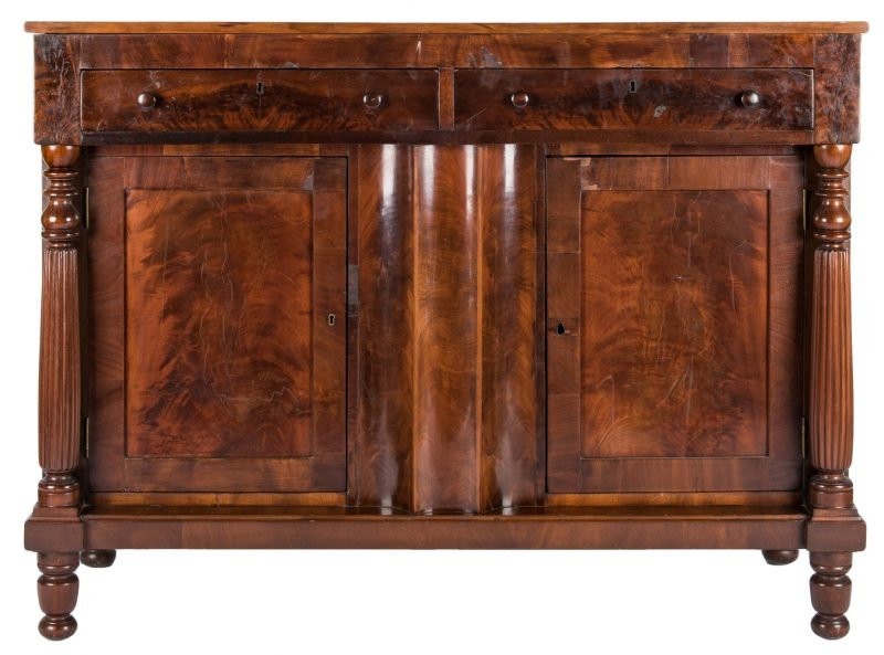 Lot 610: Southern Classical Sideboard, TN History