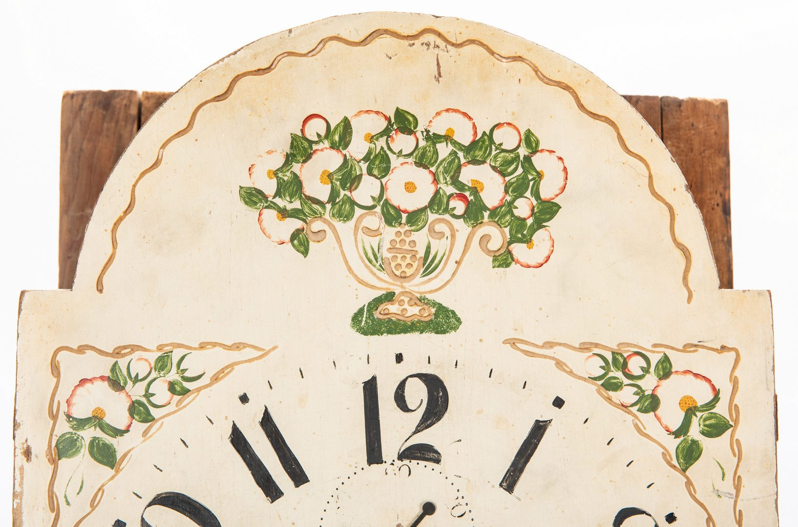 Lot 612: Federal Grain-painted Tall Case Clock