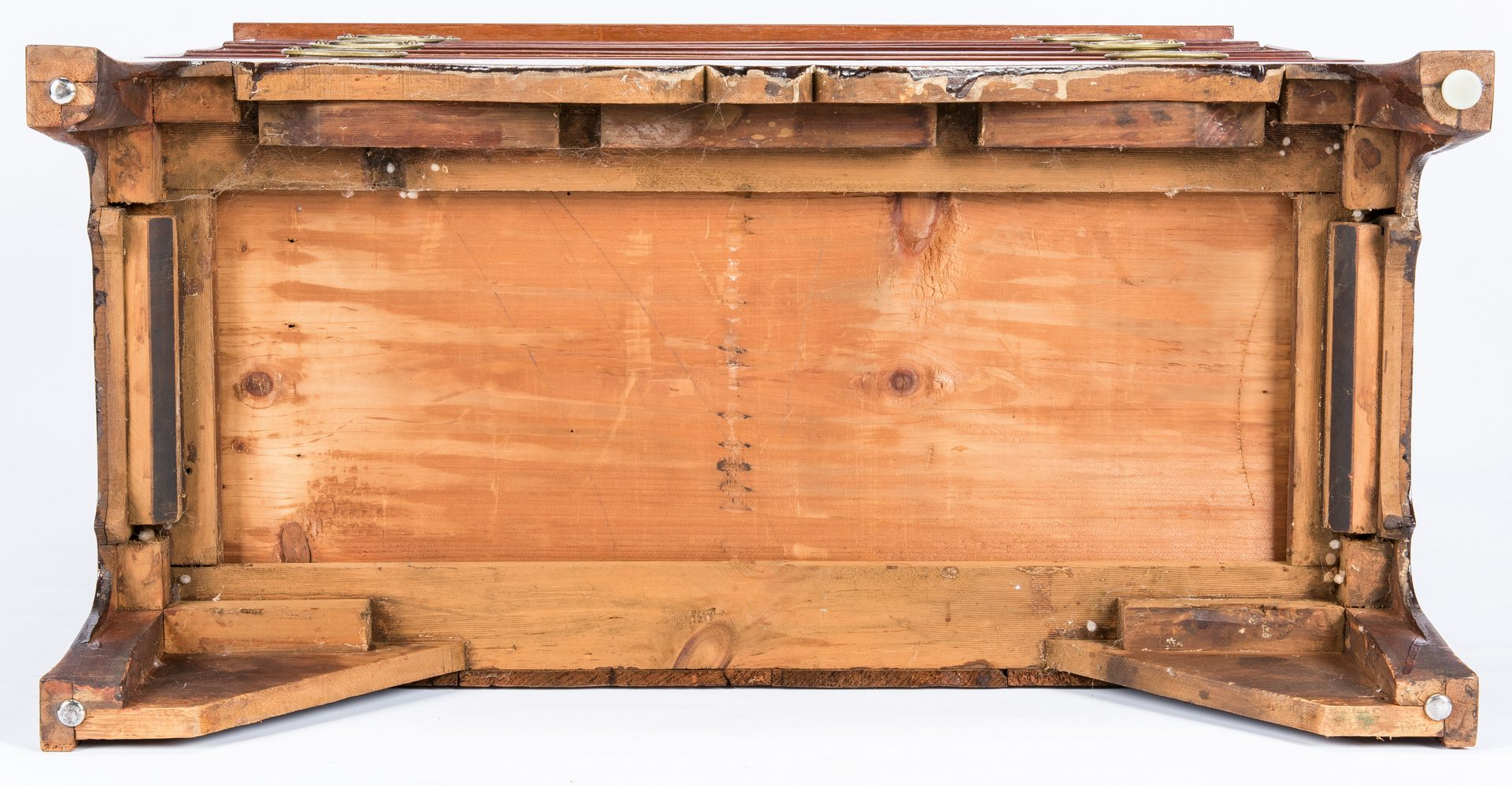 Lot 613: Inlaid Federal Chest of Drawers