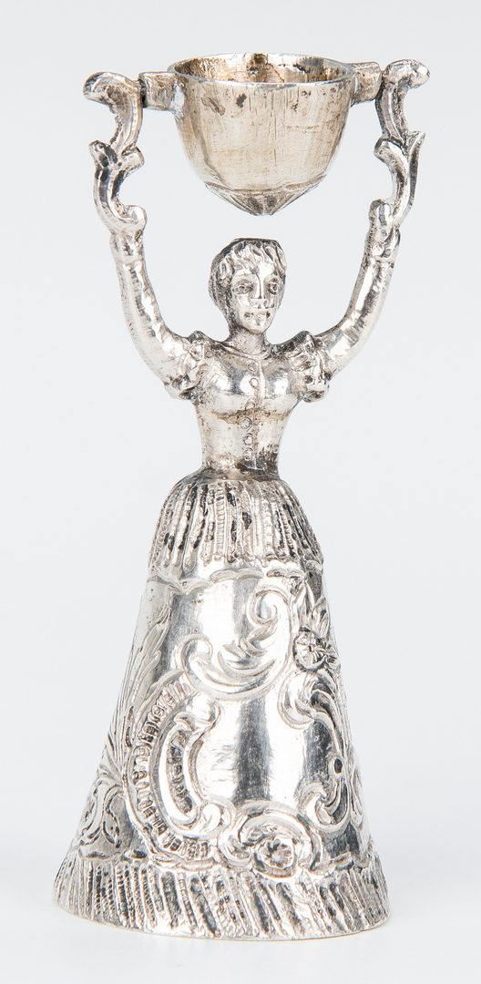 Lot 644: Assorted Silver Novelties, incl. Miniatures