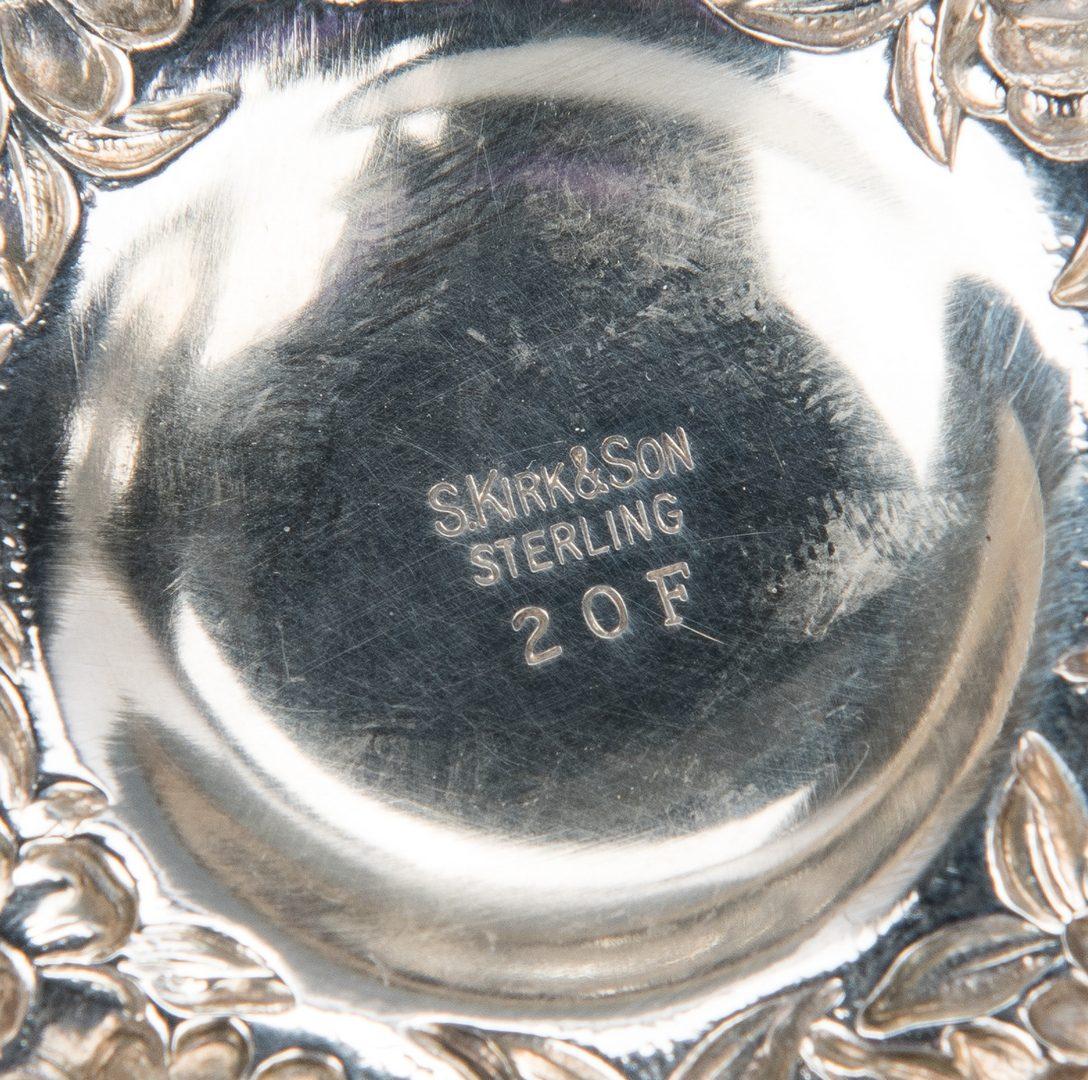 Lot 653: 32 Sterling Items, incl. Demitasse, Top Hat