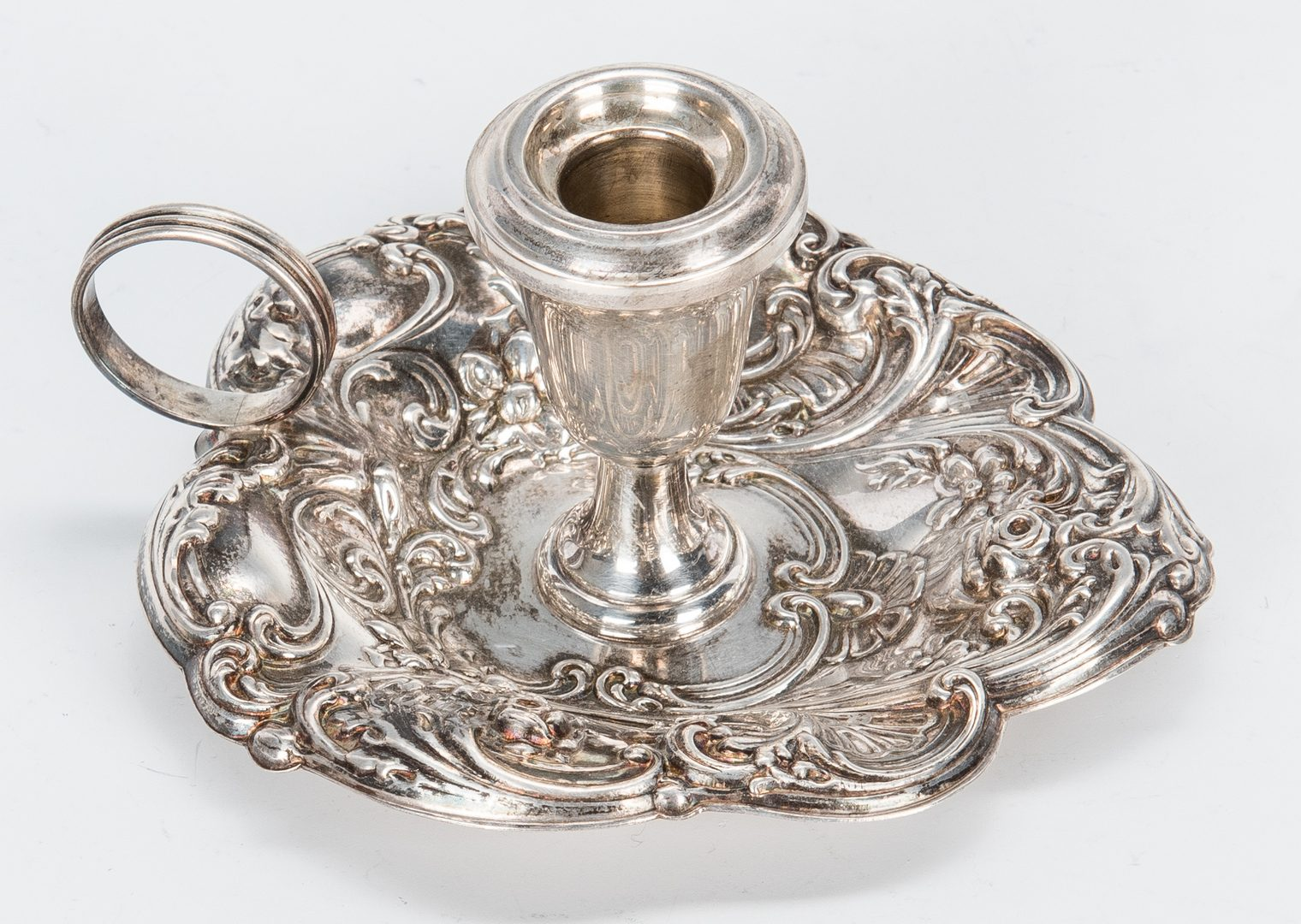 Lot 657: 3 pcs. Sterling Silver, incl. 2 Francis I Serving Items