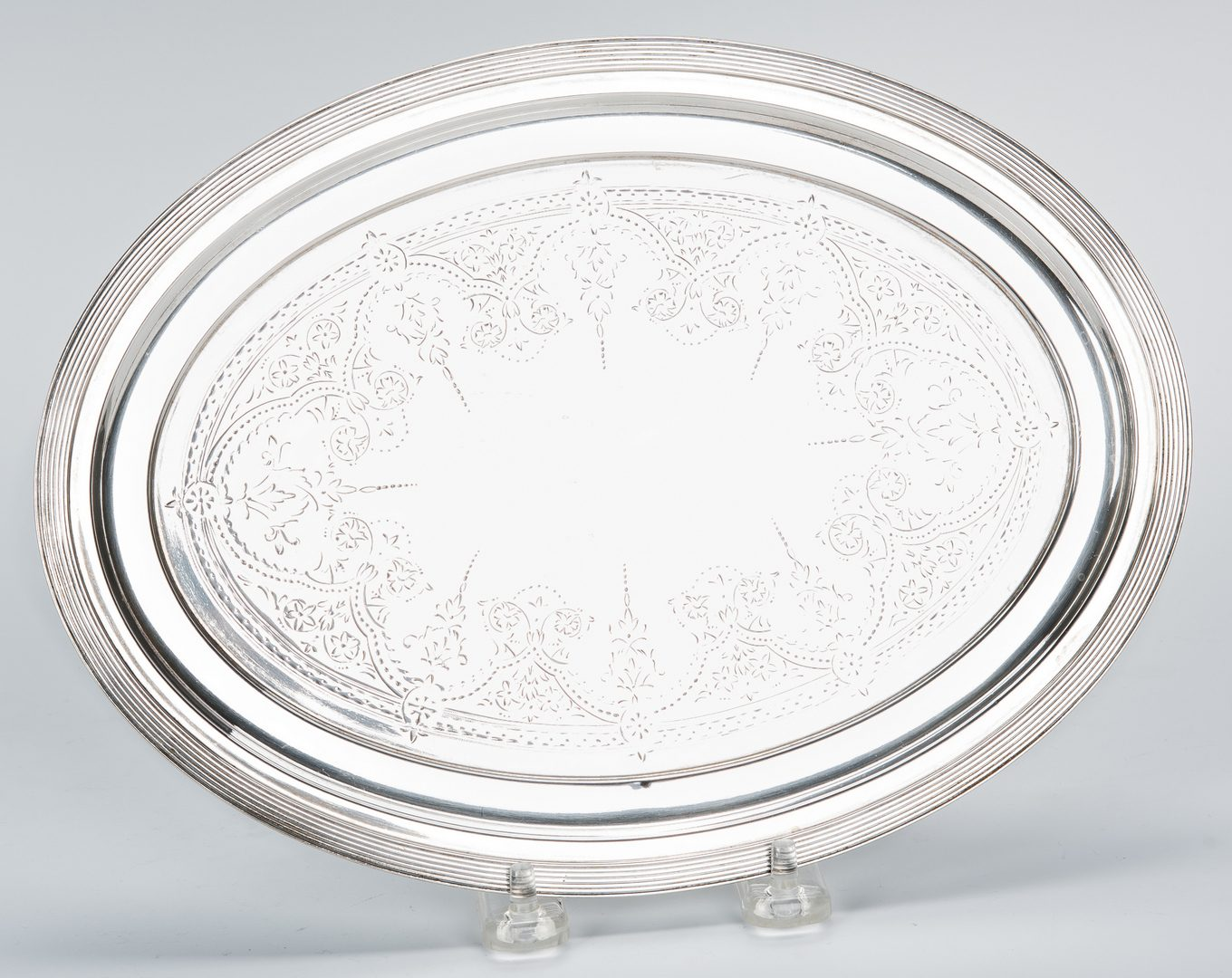 Lot 659: 3 Small Sterling Silver Trays