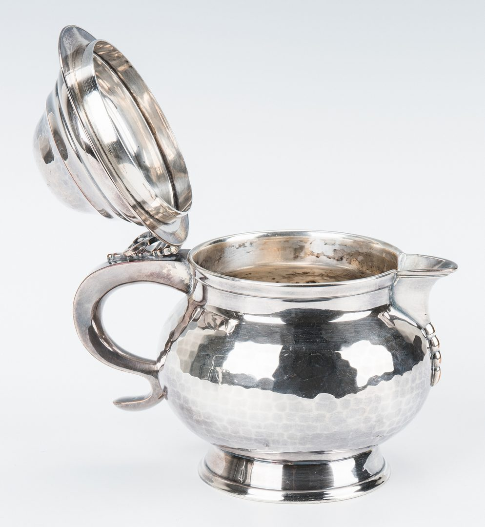 Lot 664: 2 Sterling & 5 Silverplate Items, incl. Christofle