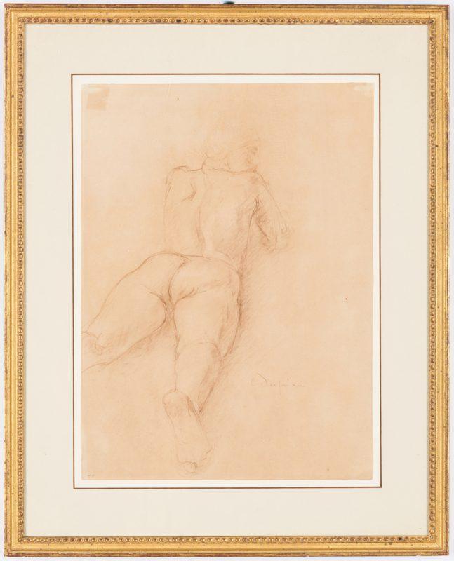 Lot 684: Charles Despiau Figure Study