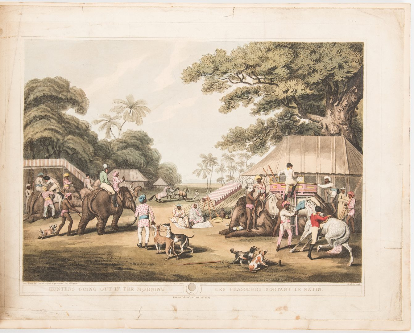 Lot 688: Oriental Field Sports of the East, T. Williamson, 1819