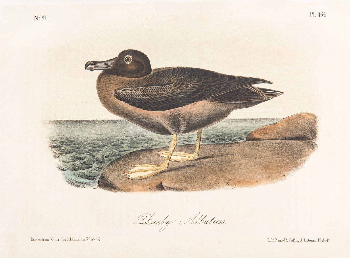 Lot 690: 1 Audubon Havell Folio & 4 Octavos, 5 items