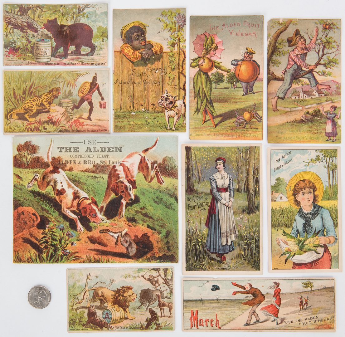 Lot 705: Collection of 730 Trade Cards