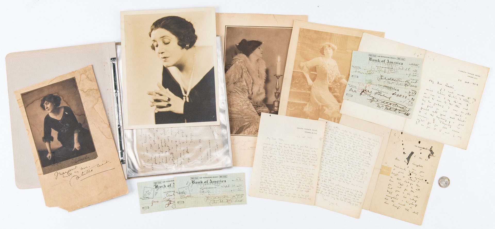 Lot 709: J.M. Barrie – Mrs. Patrick Campbell Letter Archive
