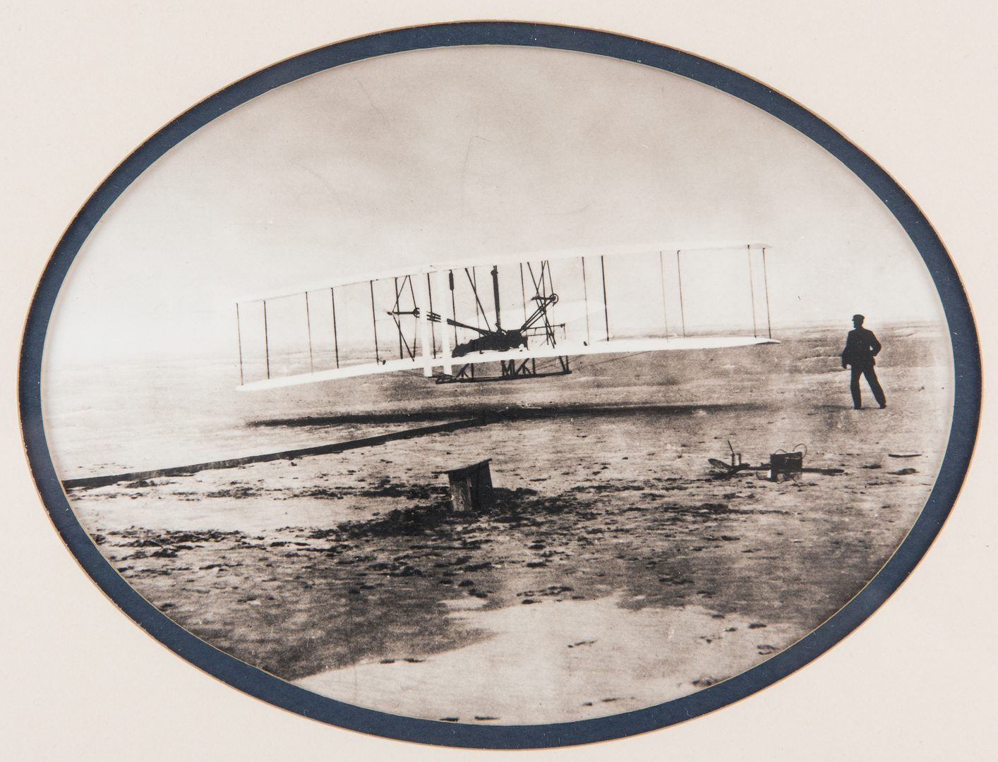 Lot 712: Orville Wright Signed Check & Photograph