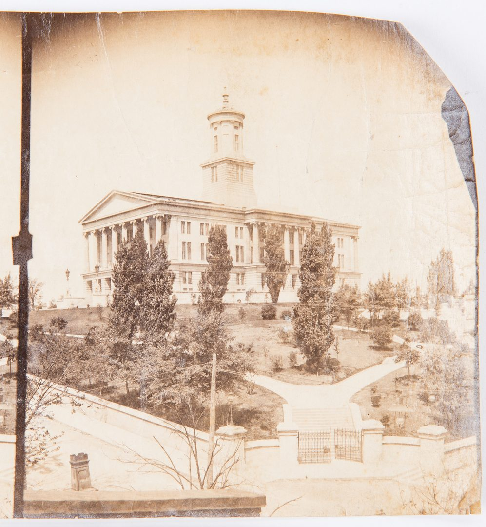 Lot 716: Nashville Ephemera incl. Fisk, Vanderbilt