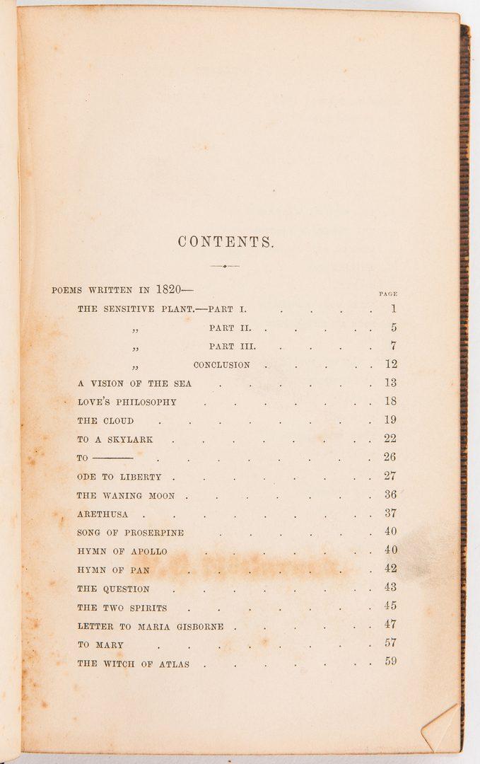 Lot 718: 9 Decorative Books incl. Burns, Shelley, Moore