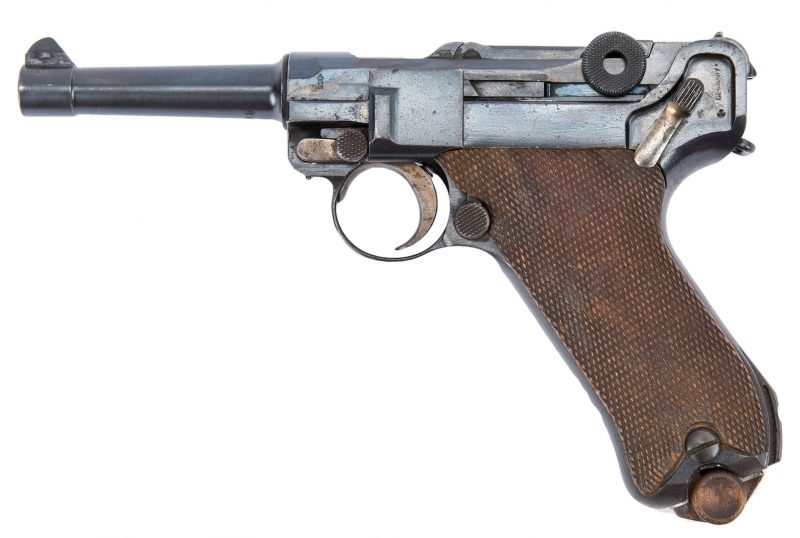 Lot 726: 1920 Commercial DWM Weimar Republic era Luger