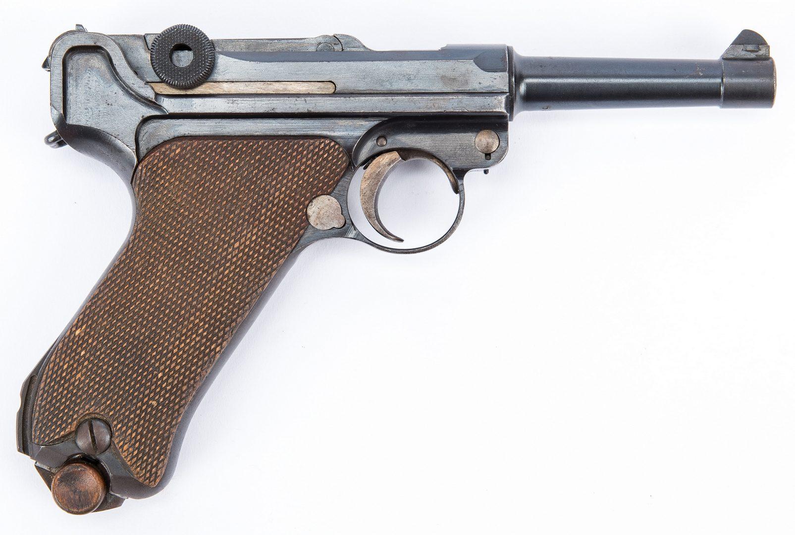 Lot 726: 1920 Commercial DWM Weimar Republic era Luger